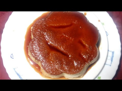 Banana Pudding Recipe Without Oven - No Bake Caramel Custard - Iftar Special Recipe