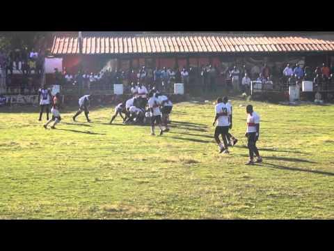 1st Half Lusaka Vs Diggers - Benaya Collides Lusaka Rugby Players
