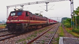 [IRFCA] Video#03 - Most Colourful Intercity || Amritsar - Chandigarh LHB ICE(Train Number : 12242 Train Name : Amritsar - Chandigarh Intercity Express Locomotive : Ludhiana (LDH) WAP-4 # 22656 Location : Manawala / MOW [NR] ..., 2015-11-01T08:34:40.000Z)