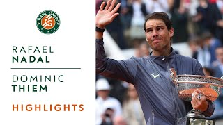 Rafael Nadal vs Dominic Thiem - Final Highlights | Roland-Garros 2019