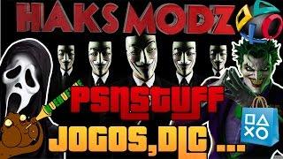 COMO BAIXAR JOGOS E DLC PARA PS3(DESTRAVADO) PELO PSN STUFF