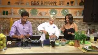 Chef Jill Davie Makes Lemon Zest And Herb Crusted Salmon
