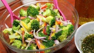 Brokoli Salatası Nasıl Yapılır? Sağlıklı bir lezzete davetlisiniz.
