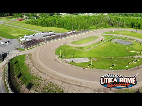 Utica Rome speedway Drone 2