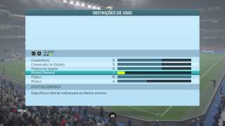 Jogando FIFA 16