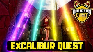 🔴 UPDATE EXCALIBUR QUEST | Roblox Dungeon Quest Level 138 | GRINDING WITH SUBS | LIVE (17th Sept19)