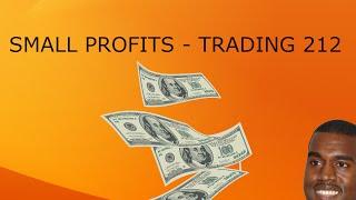 SMALL PROFITS - Trading 212 Forex Trading #14
