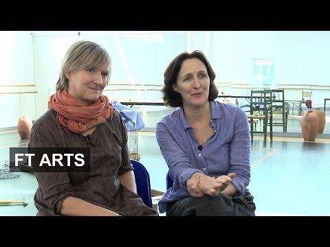 Fiona Shaw and Deborah Warner