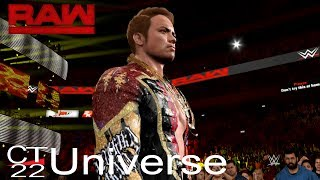 WWE 2K Universe - WWE 2K17: Raw Episode 35 thumbnail