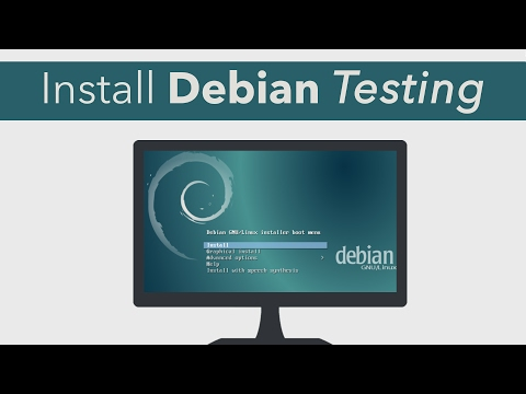 Install Debian Testing / Stretch (xfce) the right way ✔