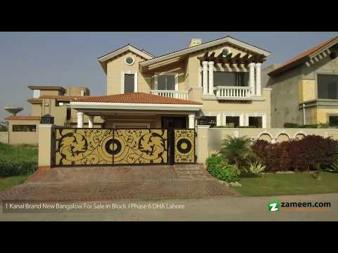 BRAND NEW GALLERIA DESIGN STUNNING BUNGALOW IS AVAILABLE FOR SALE IN DHA PHASE 6 BLOCK J LAHORE