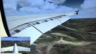 FS2004 LUFTHANSA A380-800 Frankfurt to Tokyo (Narita) 2/2