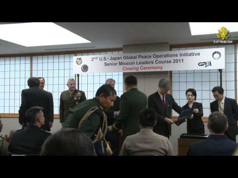 U.S.-Japan Global Peace Operations Initiative Course in Tokyo