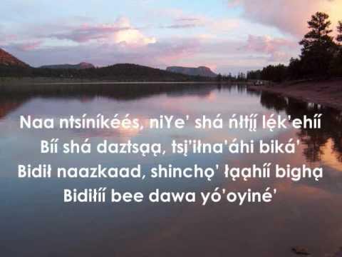 How Great Thou Art (Apache Hymnal Lyrics)