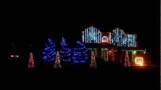 Cadger Dubstep Christmas Lights House 2012 - Full Show