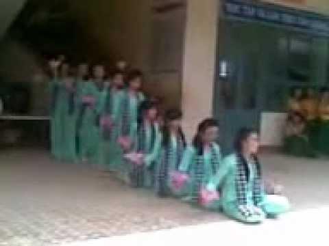 hát múa bài Huyền Thoại Mẹ - tập thể lớp 9a5 Trường THCS Trần Quang Diệu