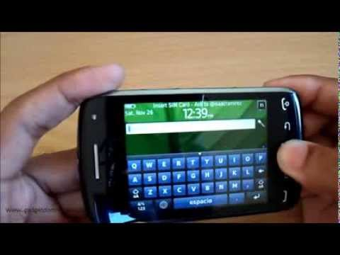 Review Blackberry Curve 9380 - Espanol