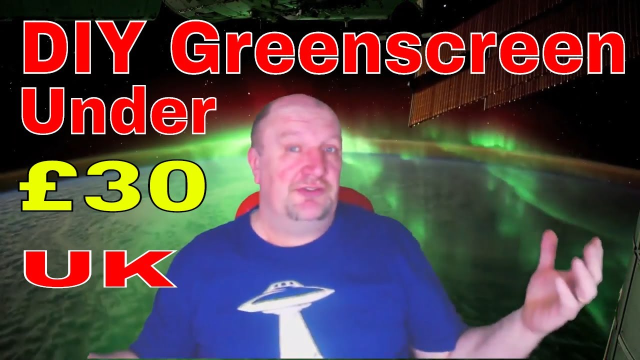 Cheapest way to make a green screen