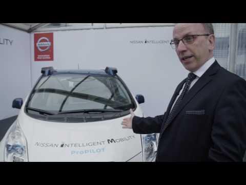Nissan Intelligent Mobility: ProPILOT TechnologyMakes Autonomous Drive First for Japanese Automaker
