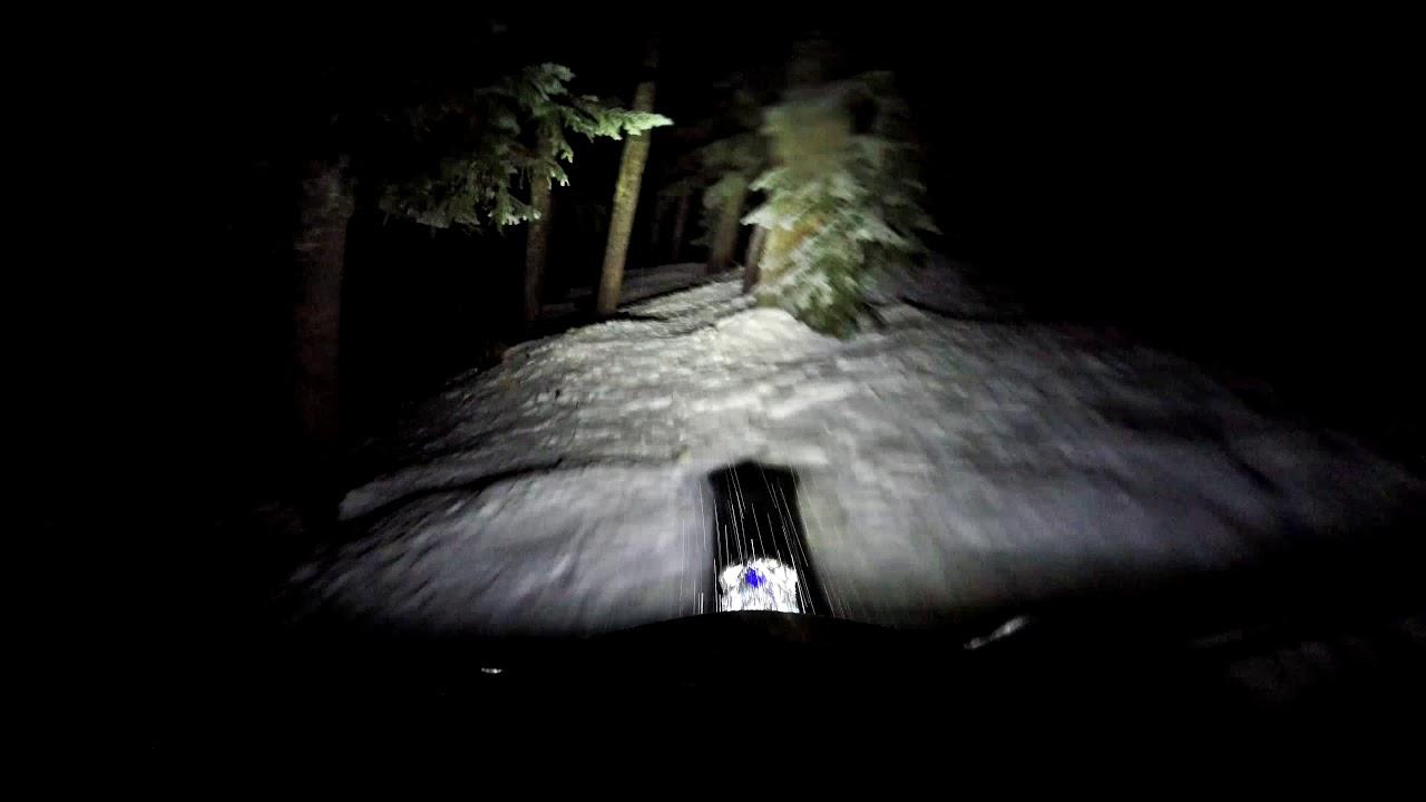 Cyclops Adventuresports Explorer Led Light Bar Snowtechmx Automatic Emergency Circuit Snowbiking At Night