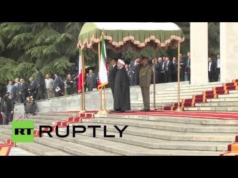 Iran: Rouhani welcomes Renzi, first EU leader to visit since Iran nuclear deal