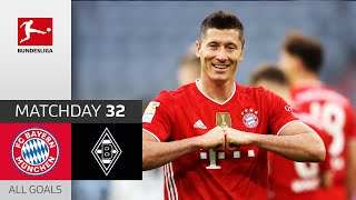 39 Goals! Hat-Trick for Lewandowski | FC Bayern München - Borussia M'gladbach | 6-0 | All Goals