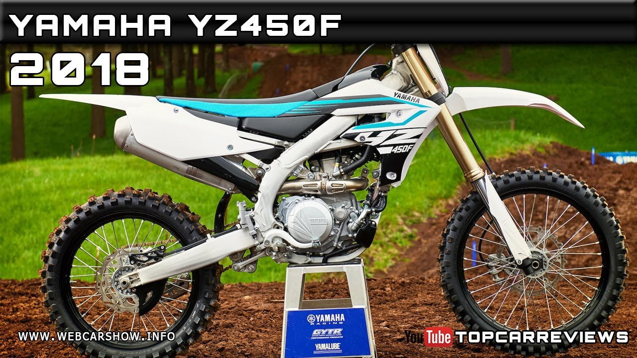 2018 yamaha yz450f review rendered price specs release