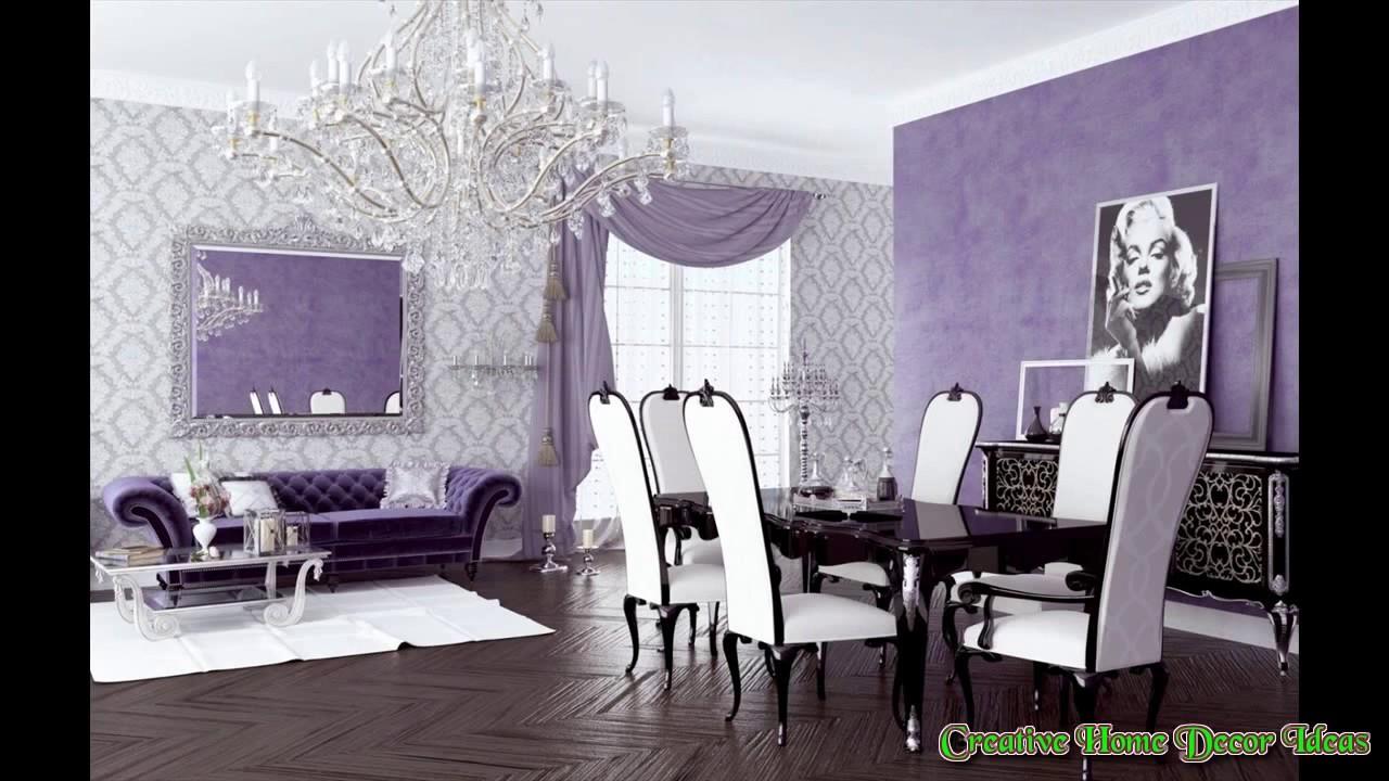 lavender living room ideas