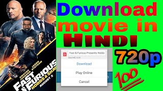 [100%] How to download hobbs and shaw movie in hindi || download hobbs and shaw movie in hindi