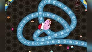 George Pig e o jogo da cobrinha - Ep04 Especial de Natal Slither.io