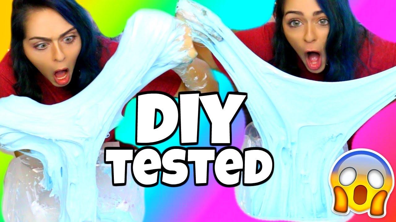 Karina Garcia Diys Tested! Diy Mega Fluffy Slime + Huge Holiday Giveaway!  Nichole Jacklyne