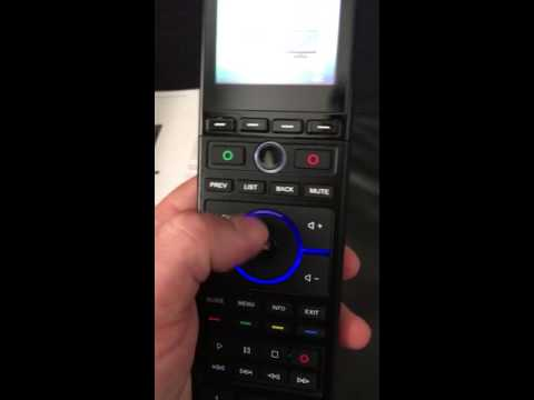 RTI T2X Touch Screen Remote Control Overview