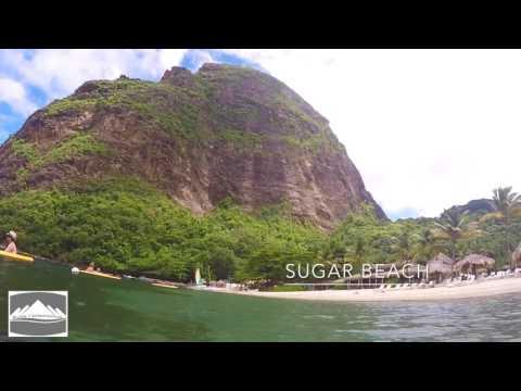 Saint lucia  The island of the caribbean sea!
