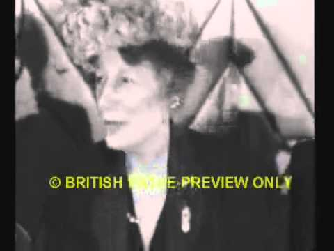 Gaiety Girls' Reunion 1946 with Lily Elsie, Edna May and Rosie Boote etc