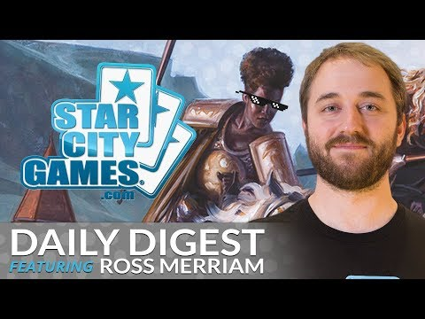 Daily Digest: Mono-White Tron with Ross Merriam [Modern]
