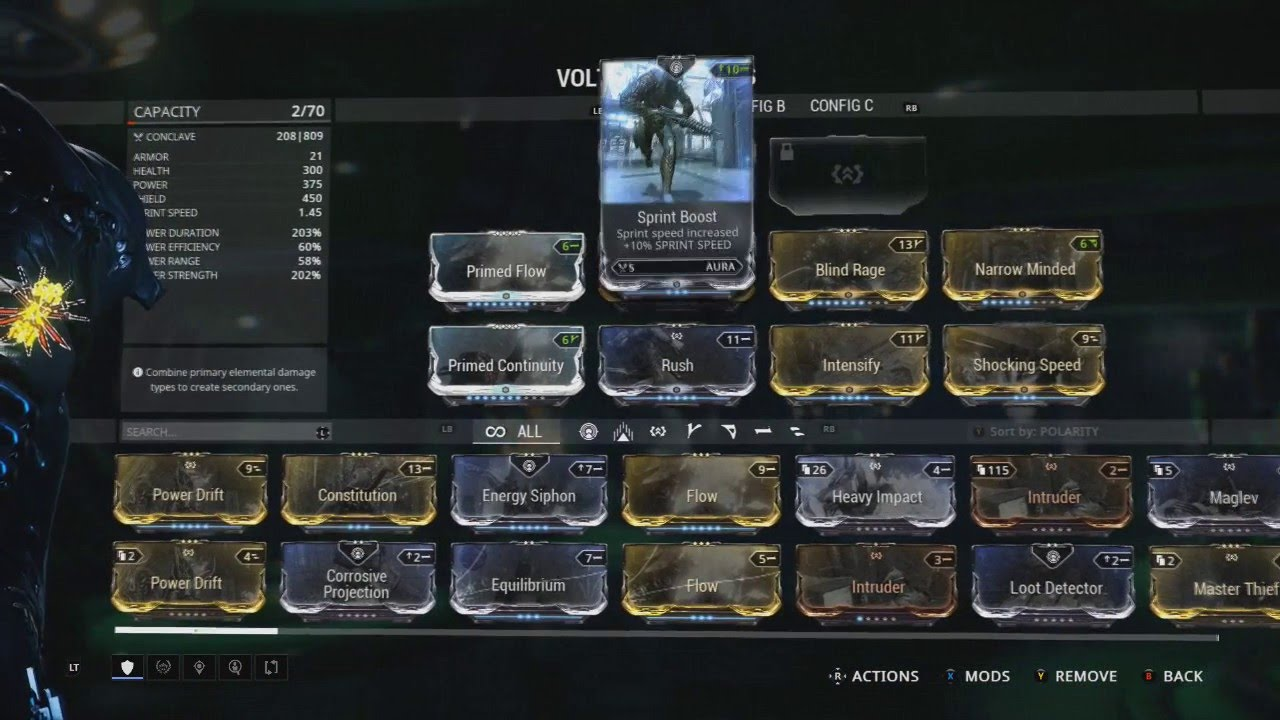 Best Volt Build Warframe