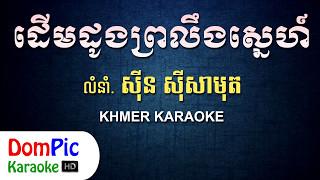 ដើមដូងព្រលឹងស្នេហ៍ ស៊ីន ស៊ីសាមុត ភ្លេងសុទ្ធ - Derm Dong Proleng Sne Sin Sisamuth - DomPic Karaoke