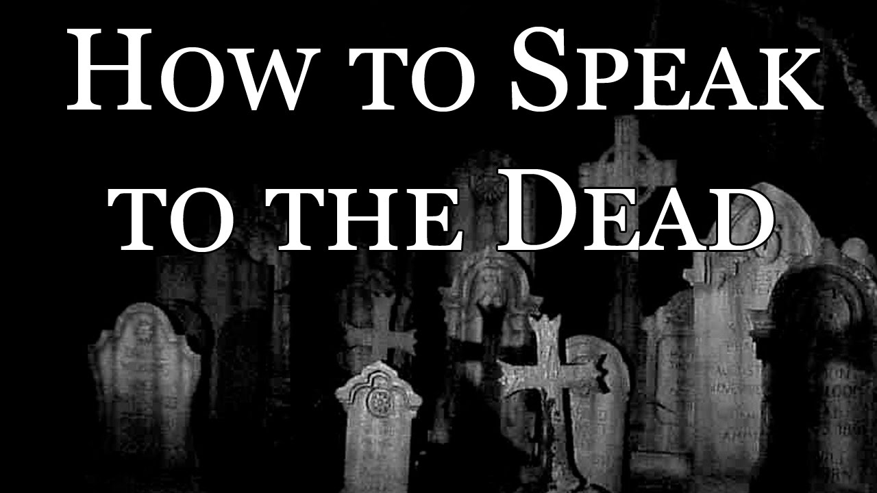 To Speak for the Dead