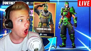 "NEW SKINS ""AIRS TERROR""! FORTNITE BATTLE ROYALE!"
