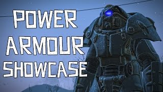 Fallout 4 Power Armour Showcase [Slight Spoiler]
