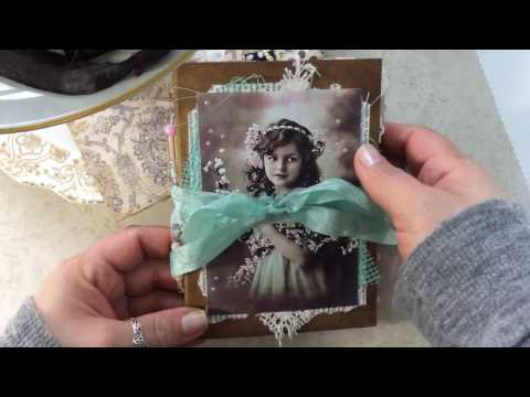 Shabby Chic Junk Journal Flip Through - SOLD