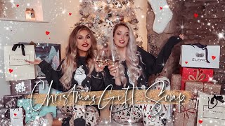 LUXURY NO BUDGET BESTFRIEND CHRISTMAS GIFT SWAP 2019!! Best Gifts EVER! ✨