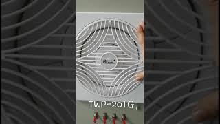 하늘풍력 이노텍환풍기 소음테스트 TWP-201G