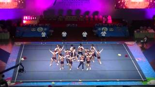 7th World Cheerleading Championships 2013, Thailand, Day 2, Mix JAPAN