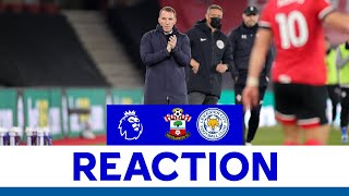 'Point Could Be Crucial'   Southampton 1 Leicester City 1   2020/21
