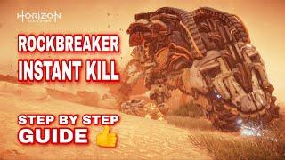 Horizon Zero Dawn - Rockbreaker Instant Kill Guide