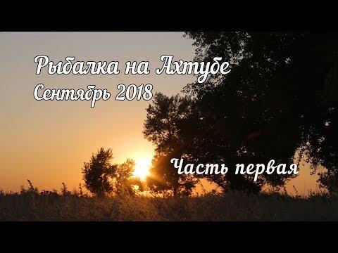 Рыбалка Ахтуба сентябрь 2018  первая часть
