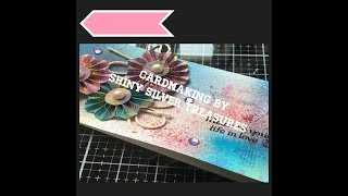 Cardmaking using the free gift from papercraft inspirations issue 191 June 2019