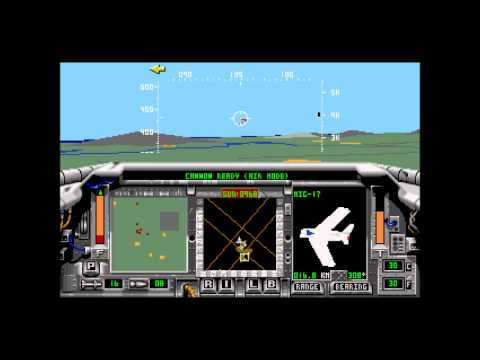 F-15 Strike Eagle II for the Sega Genesis with Mikey's VideoGame Madness Commentary