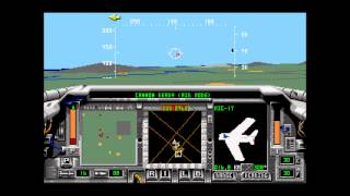 F-15 Strike Eagle II for the Sega Genesis with Mikey